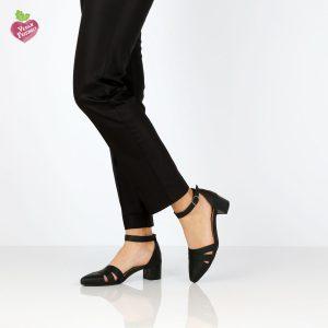 דגם קרן: נעליים טבעוניות בצבע שחור - MIZU