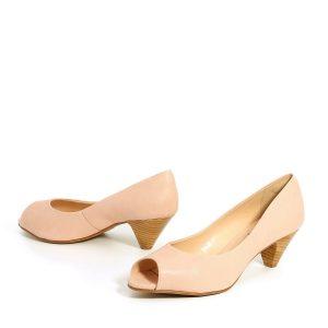 דגם ענבל: נעלי עקב בצבע ורוד - Rebecca Ashley
