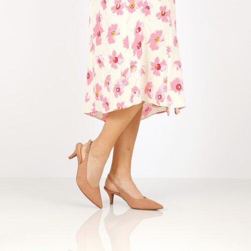 דגם אן: נעלי עקב בצבע שחור - Rebecca Ashley