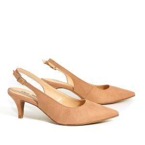 דגם אן: נעלי עקב בצבע ורוד - Rebecca Ashley