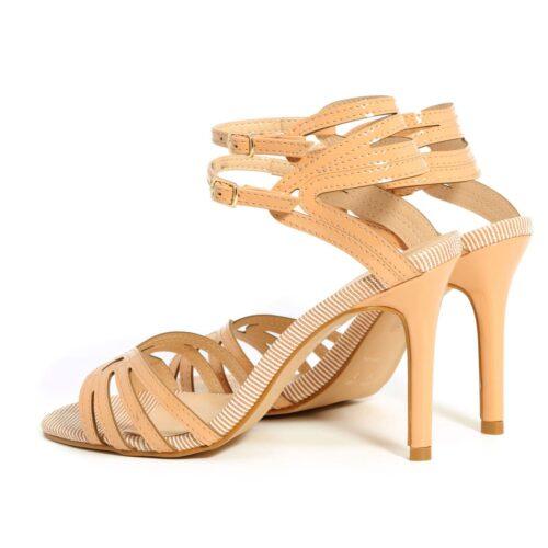 דגם אופיר: נעלי עקב בצבע ורוד