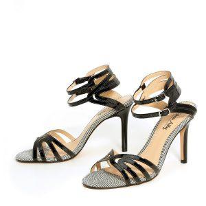 דגם אופיר: נעלי עקב בצבע שחור - Rebecca Ashley
