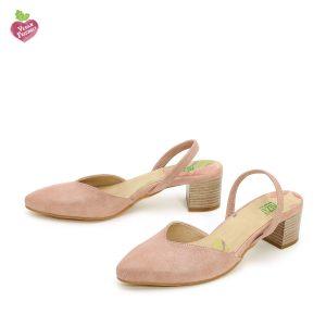 דגם אתי: נעלי סירה טבעוניות בצבע ורוד - MIZU