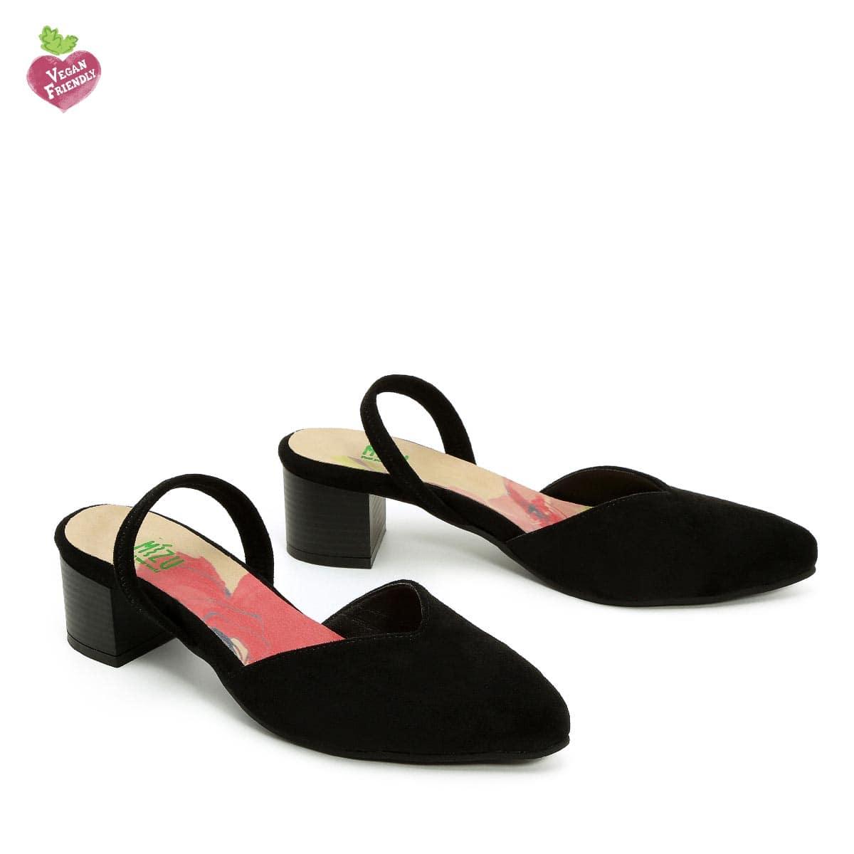 דגם אתי: נעלי סירה טבעוניות בצבע שחור