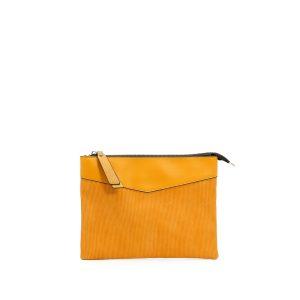 דגם דפנה: תיק לנשים בצבע צהוב