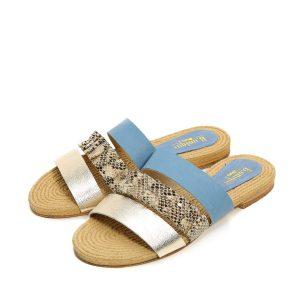 דגם נויה: נעליים בצבע כחול - B.unique
