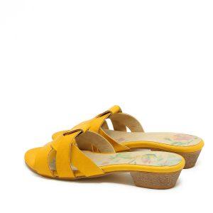 דגם לידר: כפכפים בצבע צהוב - B.unique