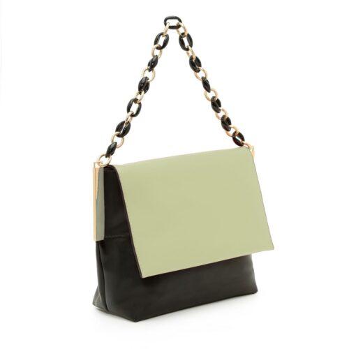 דגם אמיליה: תיק צד לנשים, בצבע שחור