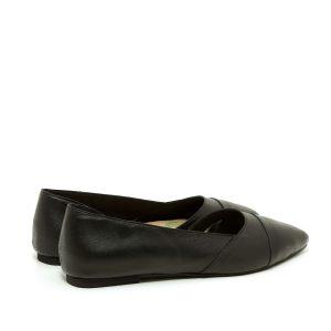 דגם אנדריאה: נעליים שטוחות בצבע בורדו - B.unique