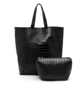 דגם רונה: תיק לנשים בצבע שחור