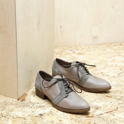 בלעדי לאתר - דגם בלגיה: נעלי אוקספורד לנשים