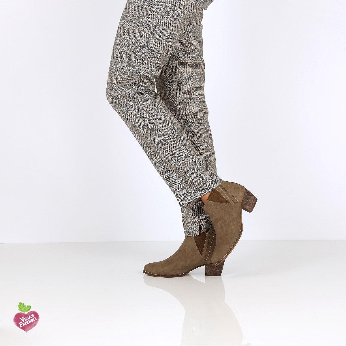 דגם ג'ני: מגפונים טבעוניים לנשים