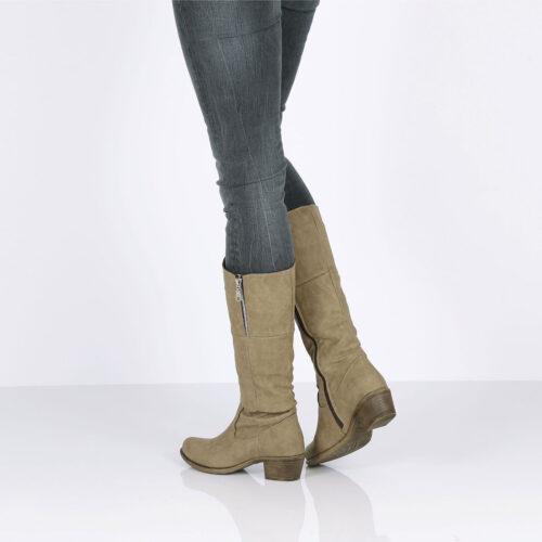 דגם שרלין: מגפיים טבעוניים לנשים