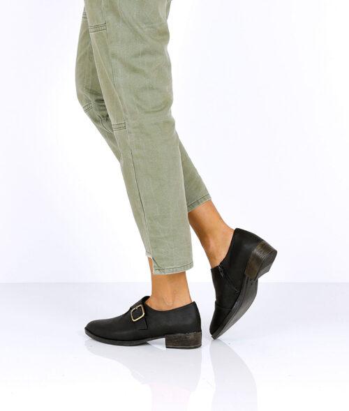בלעדי לאתר- דגם האלי: נעלי מוקסין טבעוניות לנשים