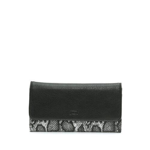 דגם ריטה: ארנק לנשים בצבע שחור