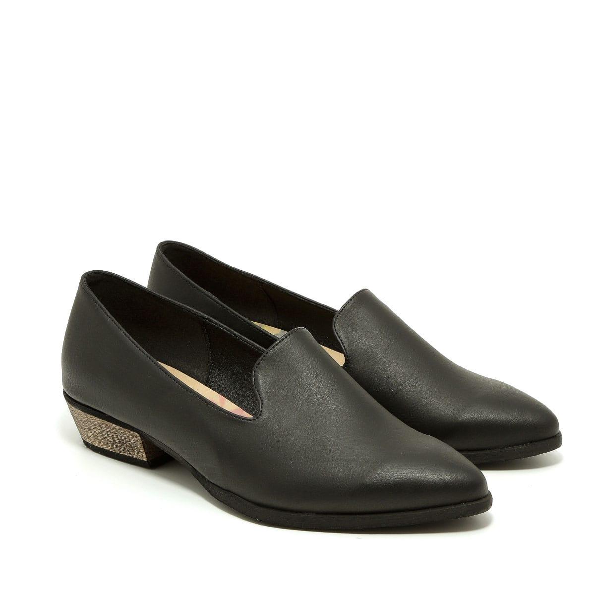 דגם קתרין: נעלי מוקסין טבעוניות לנשים