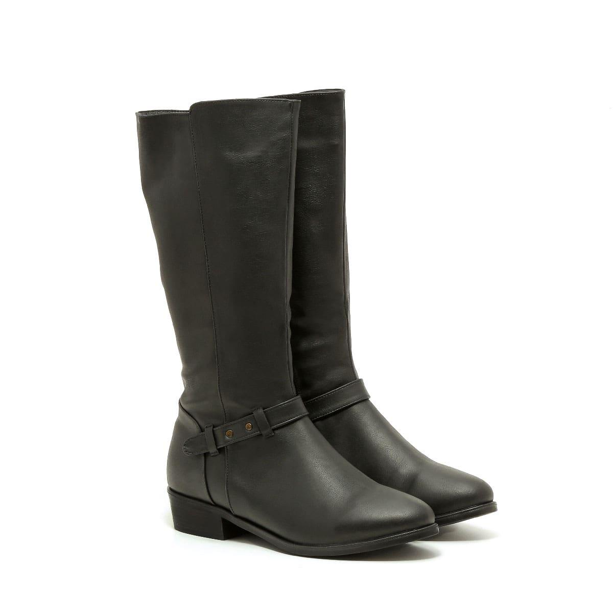 בלעדי לאתר - דגם טסה: מגפיים טבעוניים לנשים
