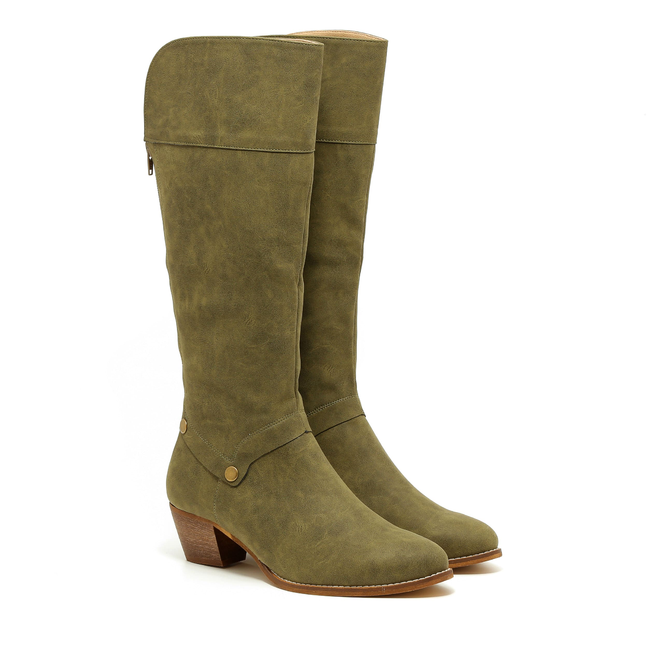 דגם דייזי: מגפיים טבעוניים לנשים