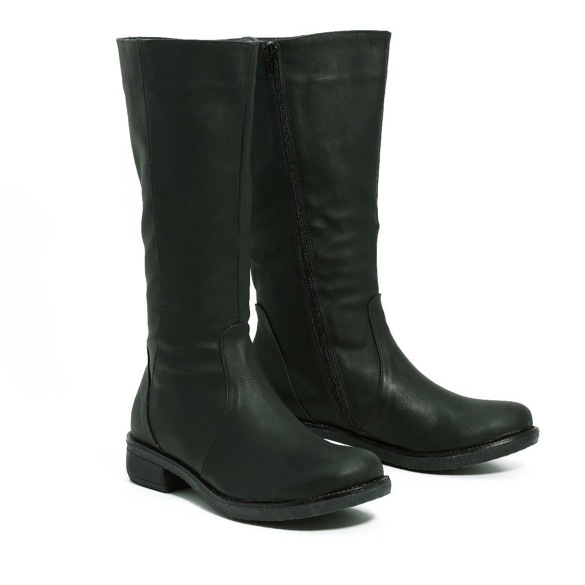 בלעדי לאתר - דגם בל: מגפיים טבעוניים לנשים
