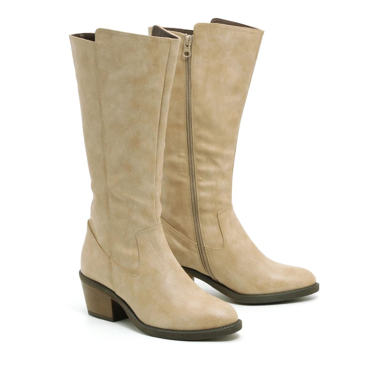דגם ברוק: מגפיים טבעוניים לנשים