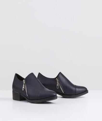 בלעדי לאתר- דגם מנדי - נעלי אוקספורד עם רוכסן