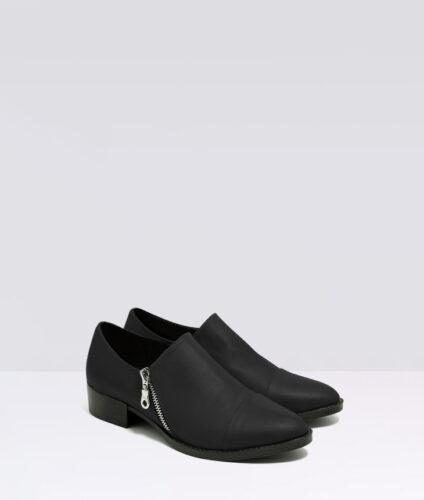 בלעדי לאתר: דגם מנדי - נעלי אוקספורד עם רוכסן
