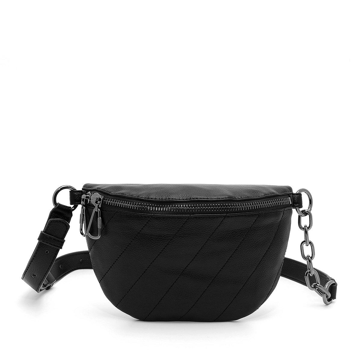 דגם סטלה: פאוץ' לנשים בצבע שחור