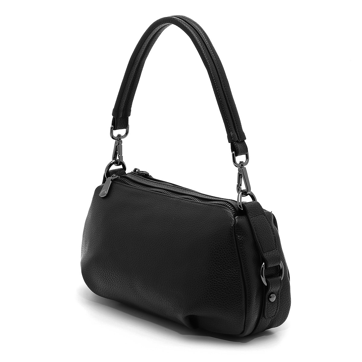 דגם הלן: תיק צד לנשים בצבע שחור