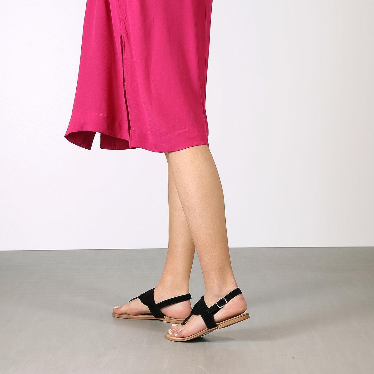 בלעדי לאתר: דגם ביילס: סנדלים שטוחים לנשים
