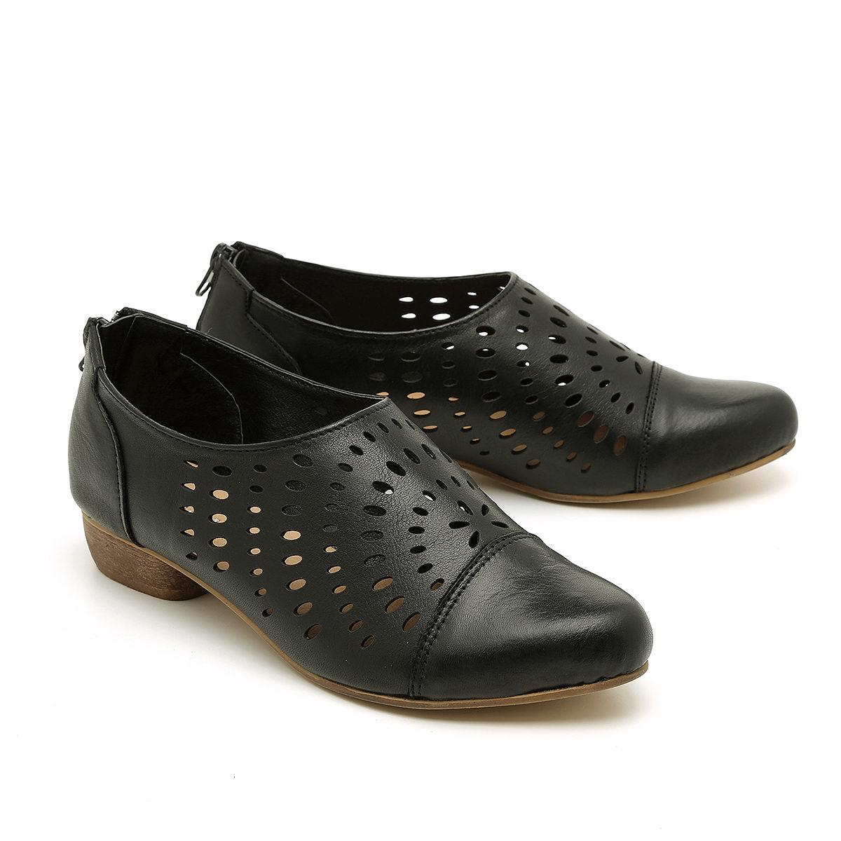 דגם מואנה - נעליי אוקספורד עם פרפורציה