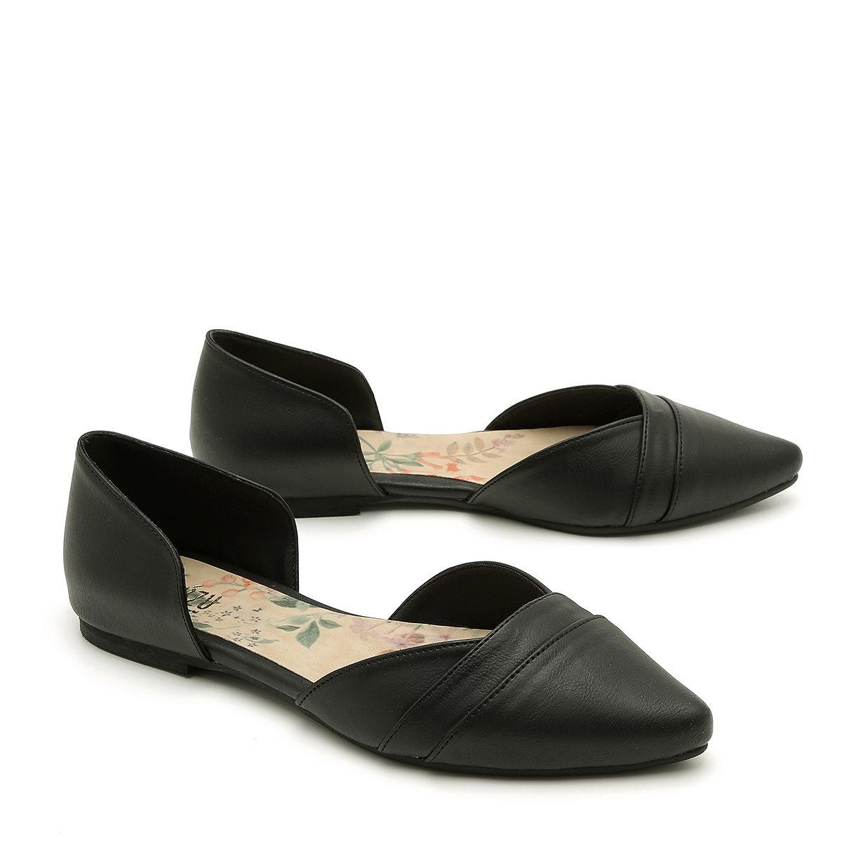 בלעדי לאתר - דגם אנה: נעלי שפיץ טבעוניות