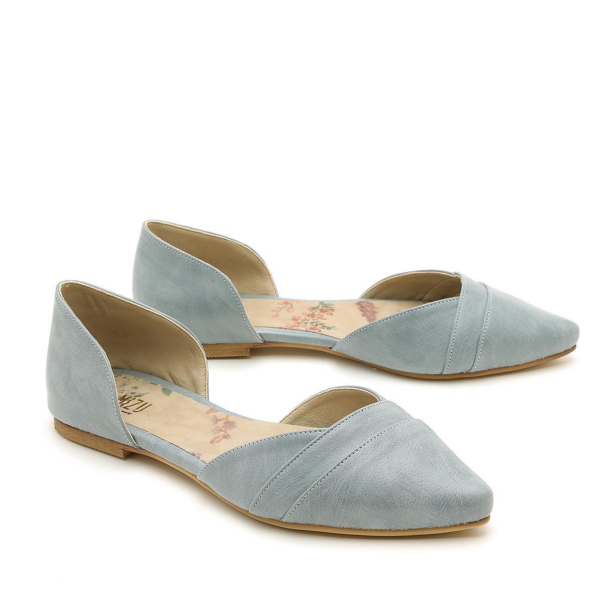 דגם אנה: נעלי שפיץ טבעוניות