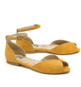דגם אורה: נעליים שטוחות טבעוניות