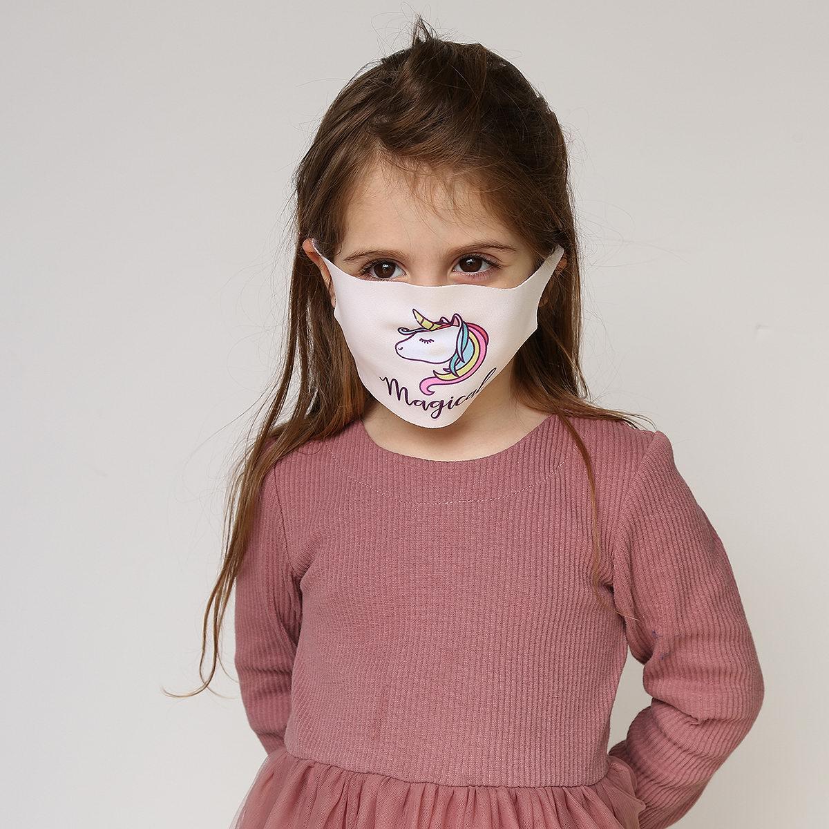 כיסוי פנים מאויר - מארז שלישייה לבנים