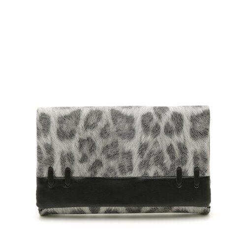 דגם טל: ארנק לנשים בצבע אפור מנומר