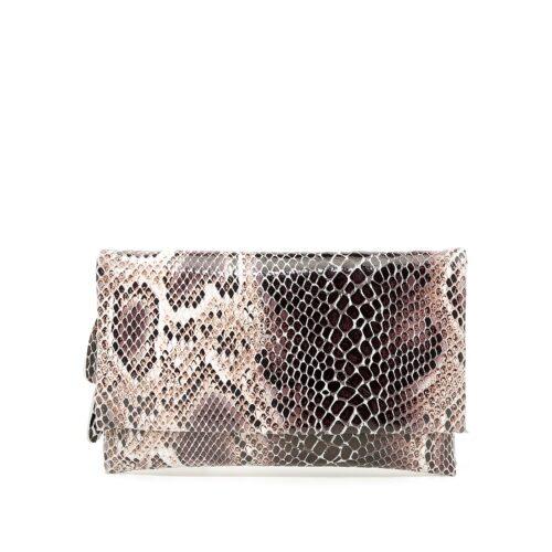 דגם עומר: תיק צד/ארנק לנשים מעור בצבע בז'