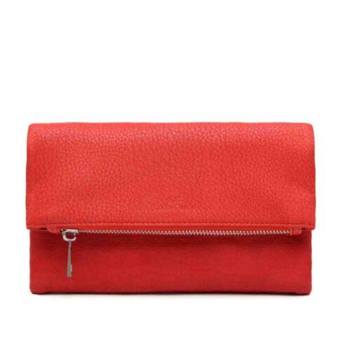 דגם שי: ארנק לנשים בצבע אדום