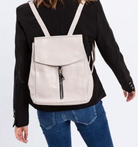 דגם איילין: תיק גב לנשים בצבע בז'