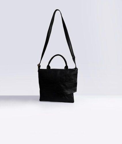 דגם סול: תיק צד לנשים בצבע שחור
