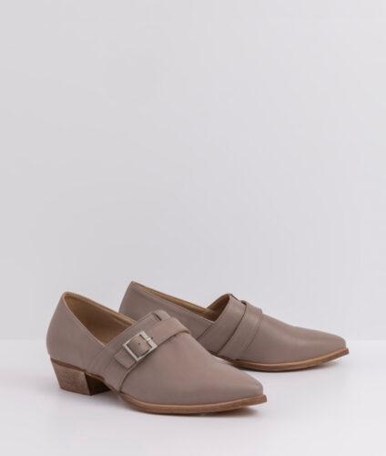 בלעדי לאתר- דגם סאלי - נעלי בובה עם אבזם