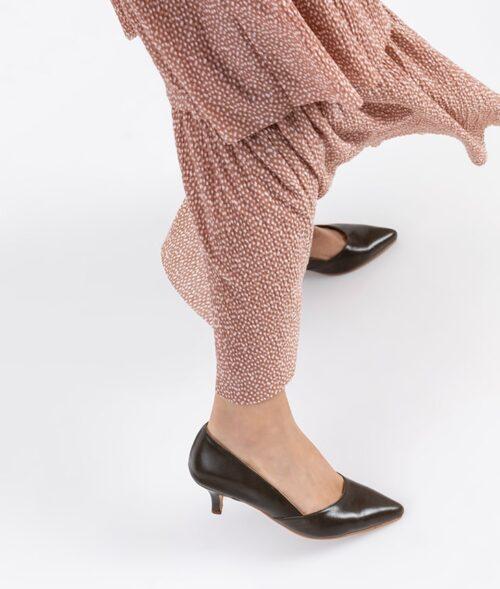 דגם מלודי - נעלי סירה עקב לנשים