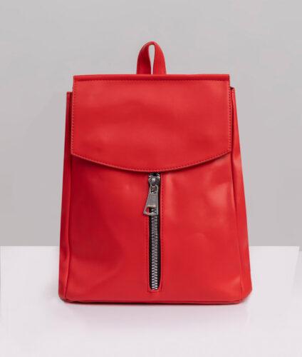 דגם איילין: תיק גב לנשים בצבע אדום