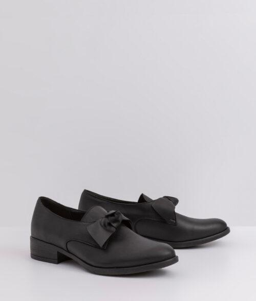 בלעדי לאתר- דגם קרלי: נעל אוקספורד עם פפיון