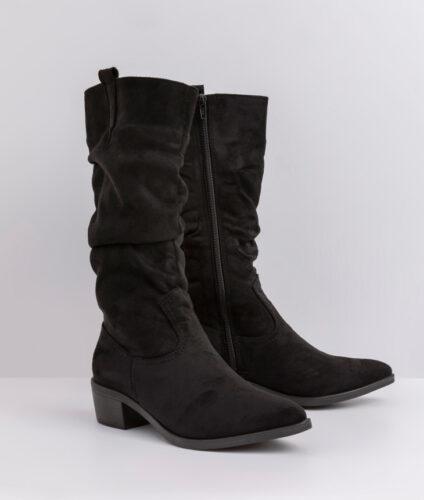 בלעדי לאתר- דגם ג'ניפר: מגפיים טבעוניים לנשים