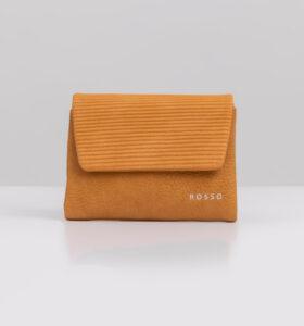 דגם נואל: ארנק קטן לנשים בצבע צהוב