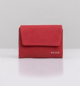 דגם נואל: ארנק קטן לנשים בצבע אדום