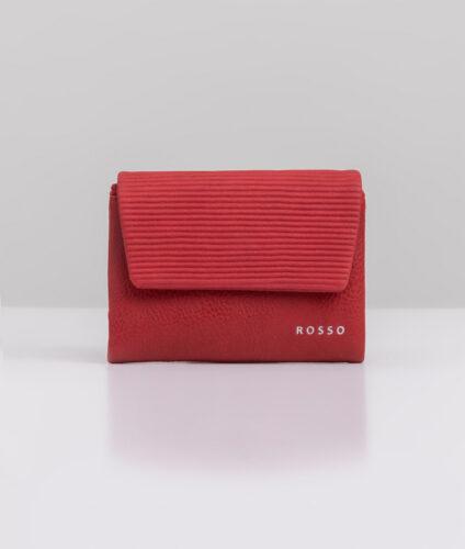 דגם נואל: ארנק נשים מעוצב בצבע אדום