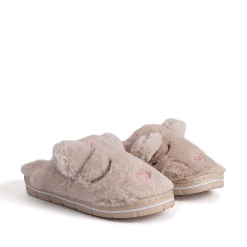 נעלי בית חיות בצבע ניוד