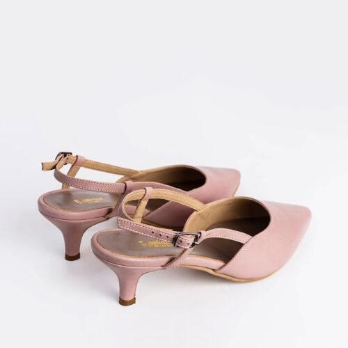 דגם אופק- נעלי עקב עם אבזם בקרסול