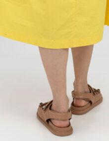 דגם אוריה- סנדלים בטקסטורת מעויינים